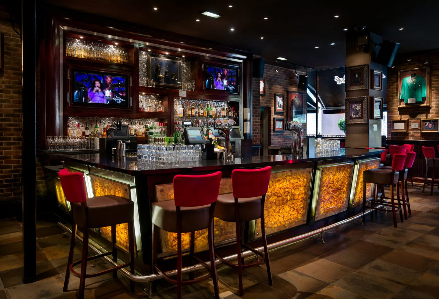 hard rock bar