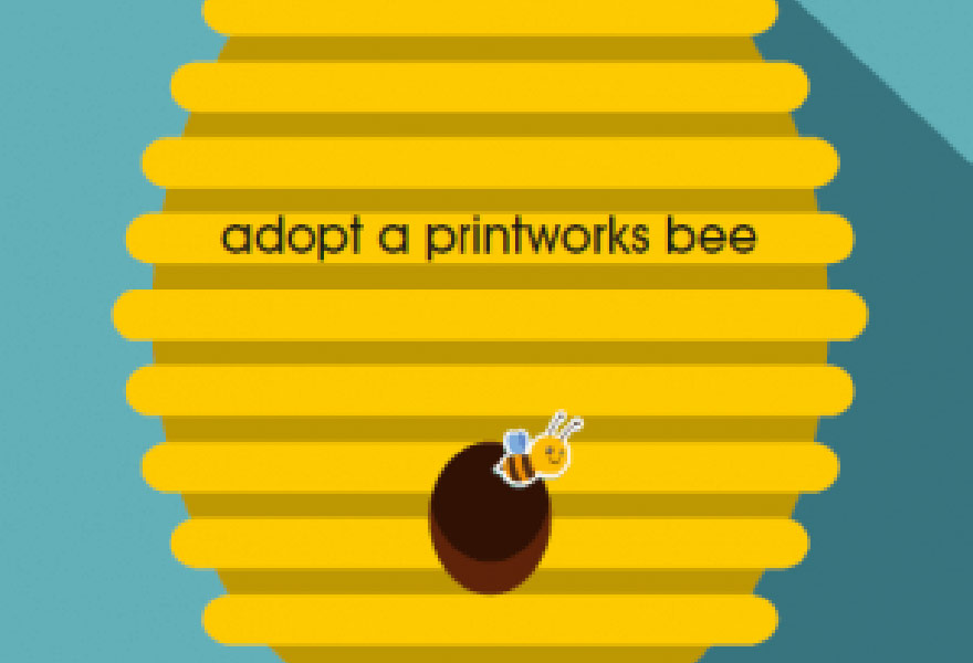 adopt a printworks bee