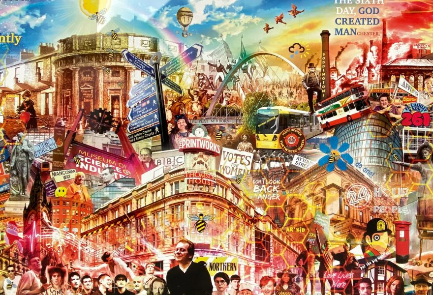 Printworks mural
