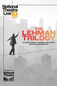 NT Live: The Lehman Trilogy (Encore)