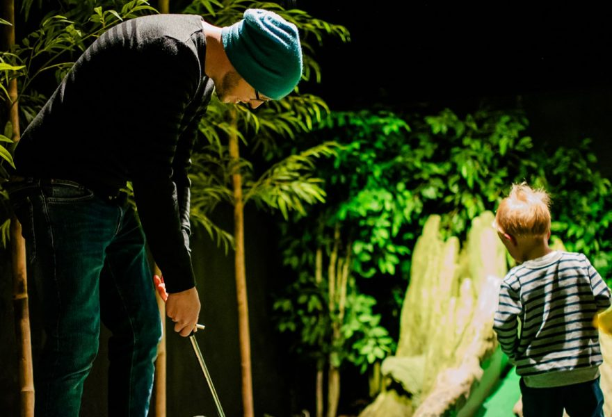Treetop Golf Half Term